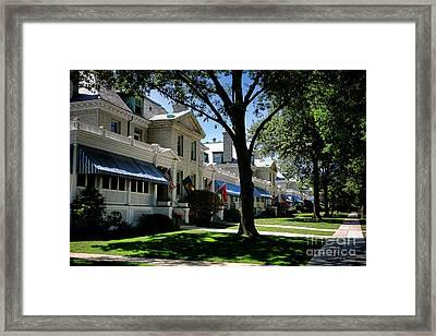 Captain Row Annapolis Framed Print