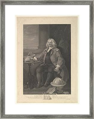 Captain Thomas Coram Framed Print by After William Hogarth