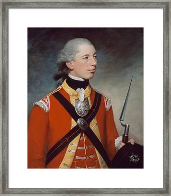 Captain Thomas Hewitt, 10th Regiment Framed Print by William Tate