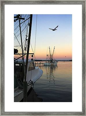 Captain Tony - In For The Night Framed Print by Mike McGlothlen