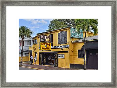 Captain Tony's Saloon Framed Print