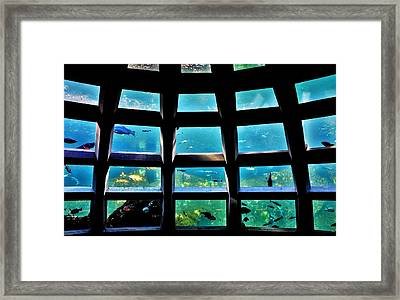 Captaining The Nautilus Framed Print by Benjamin Yeager