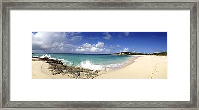 Captain's Bay Panoramic View Framed Print