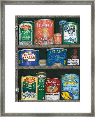 Captains Cupboard Framed Print