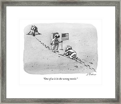 Caption Contest 211 - Winner Framed Print by Joe Dator