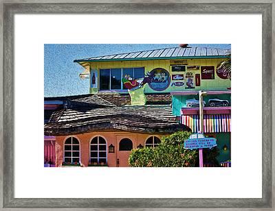 Captiva Beachside Fun Framed Print