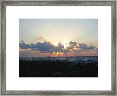 Framed Print featuring the photograph Captiva Island Fl by Jean Marie Maggi