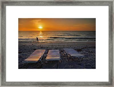 Captiva Sunset I Framed Print by Steven Ainsworth