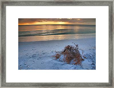 Captiva Sunset Iv Framed Print by Steven Ainsworth