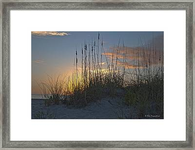 Captiva Sunset Framed Print by Mike Fitzgerald