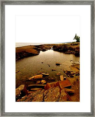 Captivating Grand Marais  Framed Print by Danielle  Broussard