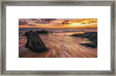 Framed Print featuring the photograph Captivating Kihei by Hawaii  Fine Art Photography
