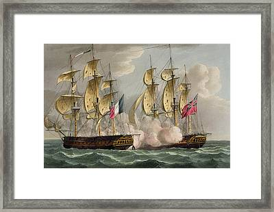 Capture Of Limmortalite Framed Print by Thomas Whitcombe