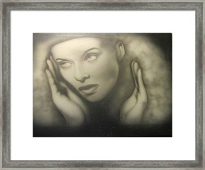 Captured By Stardom Framed Print by Shawn Hughes