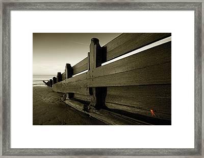 Captured Flotsam Framed Print by Anthony Roberts