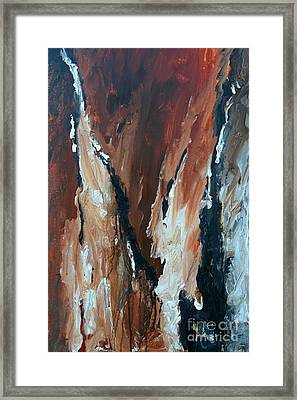 Captured Framed Print by Ismeta Gruenwald