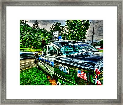 Car 54 004 Framed Print by Jeff Stallard