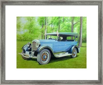 Car Framed Print by Anny Huang