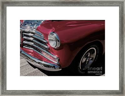 Car Art 1948 2100 Fk Fleetmaster Framed Print by Lesa Fine