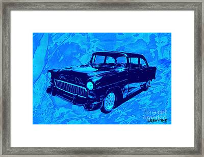 Car Art Chevy Nbr 459 Blues Framed Print