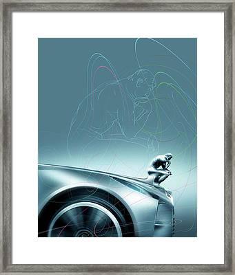 Car Design Philosophy Framed Print by Smetek