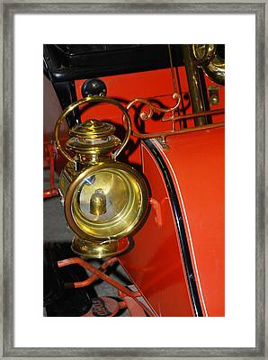 Car Detail Framed Print by T C Brown