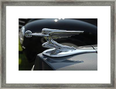 Framed Print featuring the photograph Car Hood 1 by Craig Perry-Ollila