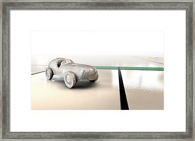 Car Monopoly Framed Print by Allan Swart