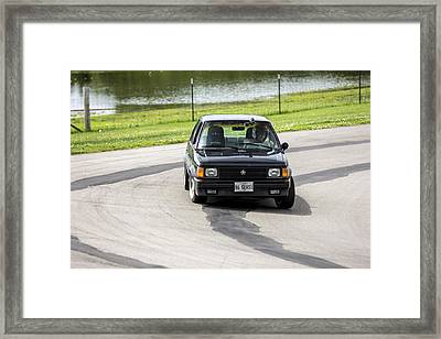 Car No. 76 - 02 Framed Print