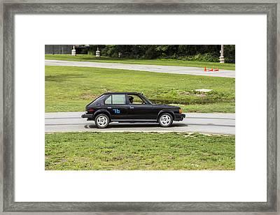 Car No. 76 - 04 Framed Print
