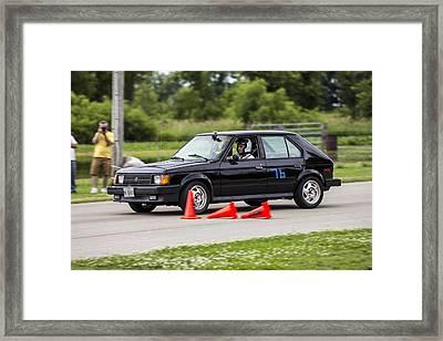 Car No. 76 - 05 Framed Print
