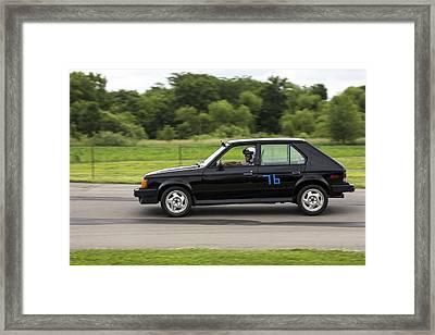 Car No. 76 - 06 Framed Print