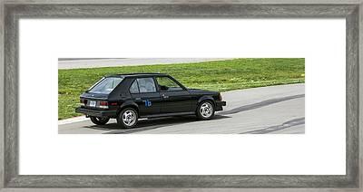 Car No. 76 - 08 Framed Print