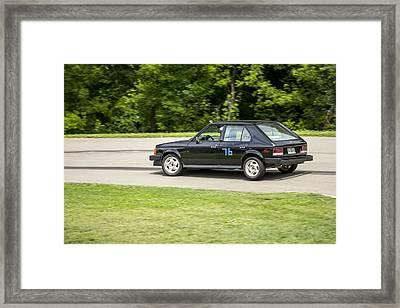 Car No. 76 - 13 Framed Print