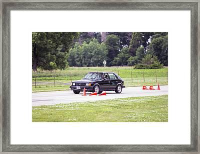 Car No. 76 - 16 Framed Print