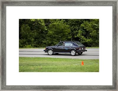 Car No. 76 - 23 Framed Print