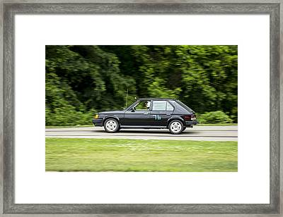 Car No. 76 - 24 Framed Print