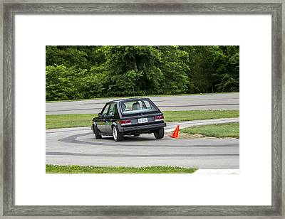 Car No. 76 - 30 Framed Print