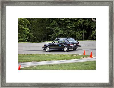 Car No. 76 - 34 Framed Print
