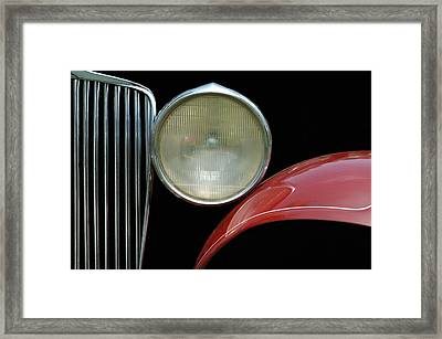 Car Parts Framed Print by Dan Holm