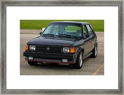 Car Show 002 Framed Print