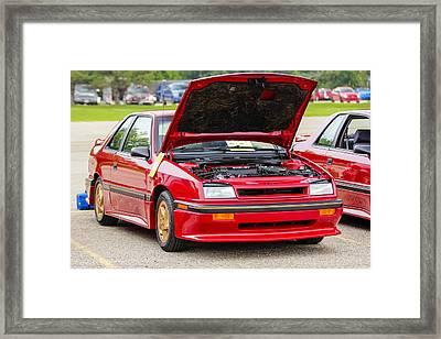 Car Show 034 Framed Print