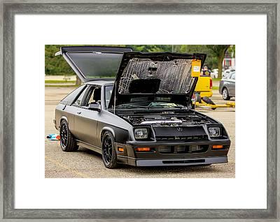 Car Show 051 Framed Print
