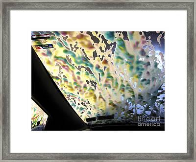 Car Wash Framed Print
