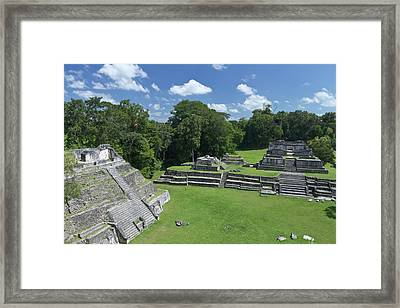 Caracol Ancient Mayan Site, Belize Framed Print by William Sutton