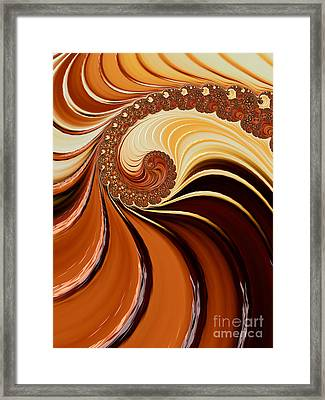Caramel  Framed Print by Heidi Smith