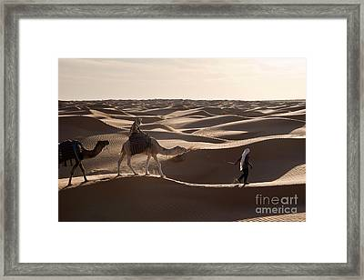 Caravan Framed Print by Delphimages Photo Creations