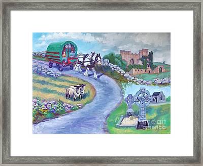 Caravan Dream  Come True Framed Print