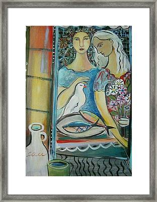 Caravan Of Dream Framed Print by Marlene LAbbe