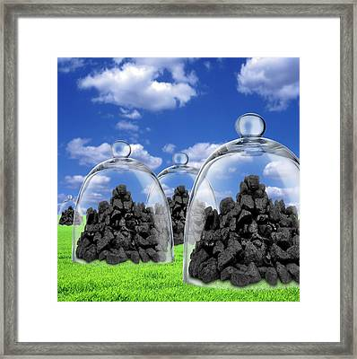Carbon Capture And Storage Framed Print